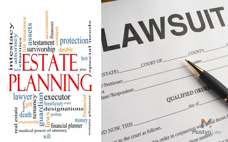 What type of documentation is necessary to sue on behalf of
